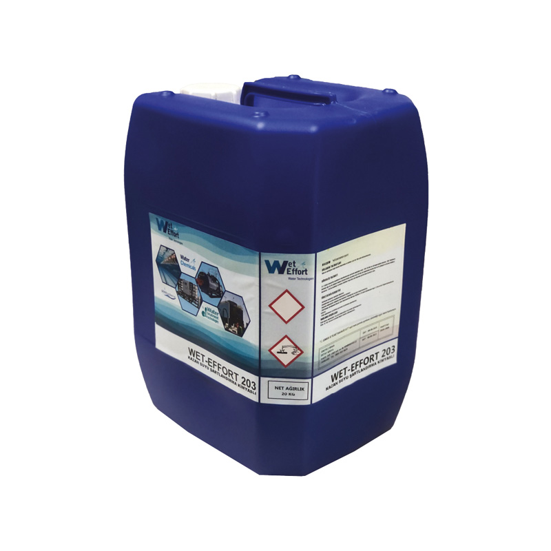 WET-EFFORT 203 BOILER WATER CONDITIONING CHEMICAL